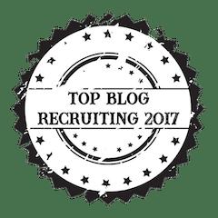 Auszeichnung Top Blog Recruiting 2017