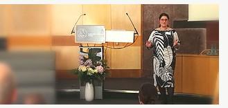 Personalberaterin Nicole Osbelt beim Dialogforum in Tutzing