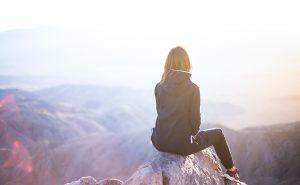 Resilienz - Mensch am Gipfel